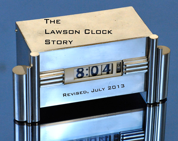 Lawson Clock Story photo-New